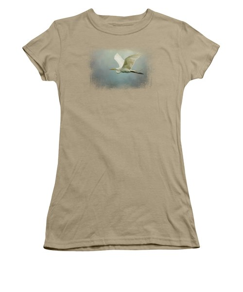 Sea Flight Women's T-Shirt (Junior Cut) by Jai Johnson