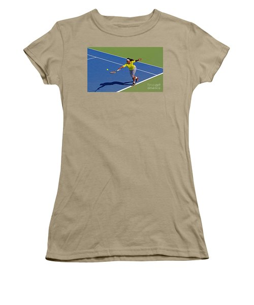 Serena Williams 1 Women's T-Shirt (Junior Cut) by Nishanth Gopinathan