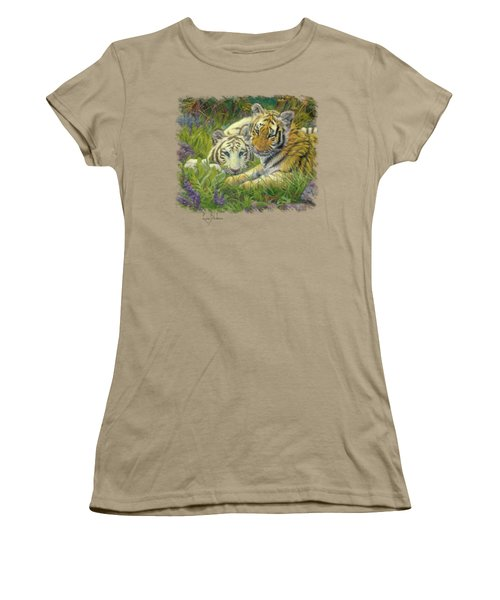 Sisters Women's T-Shirt (Junior Cut) by Lucie Bilodeau