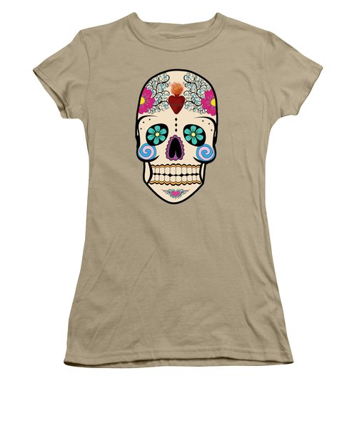 Skeleton Keyz Women's T-Shirt (Junior Cut) by LozMac