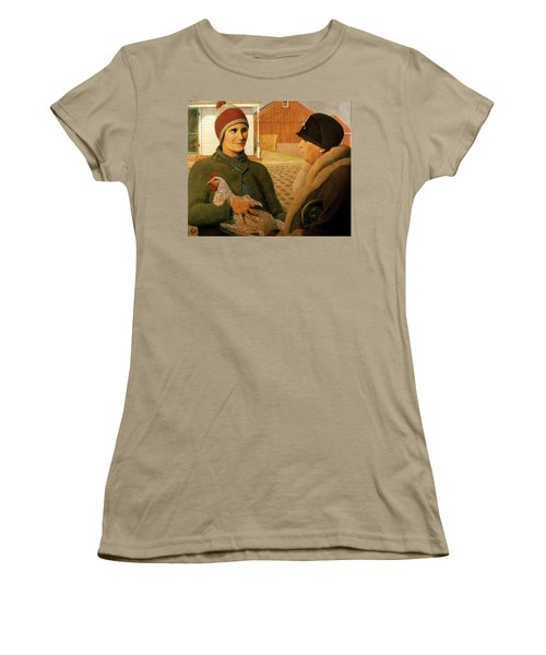 The Appraisal Women's T-Shirt (Junior Cut) by Celestial Images