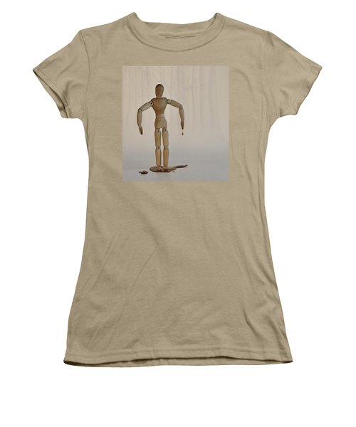 Women's T-Shirt (Junior Cut) featuring the photograph The Curse Of Maple Tree Ancestry by Mark Fuller