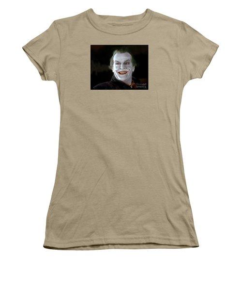 The Joker Women's T-Shirt (Junior Cut) by Paul Tagliamonte
