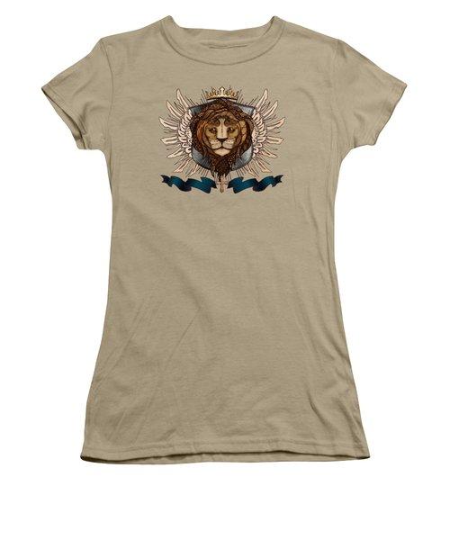 The King's Heraldry II Women's T-Shirt (Junior Cut) by April Moen