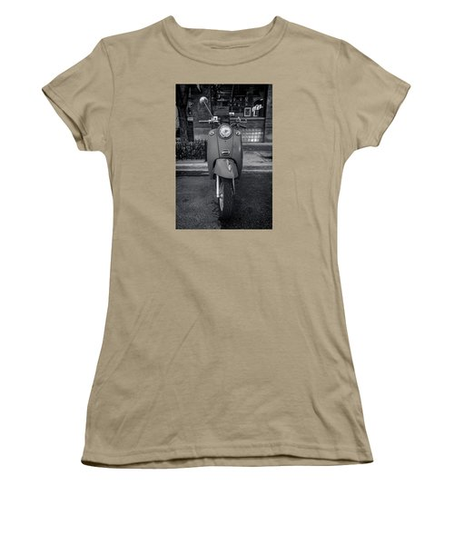 Women's T-Shirt (Junior Cut) featuring the photograph Vespa by Sebastian Musial