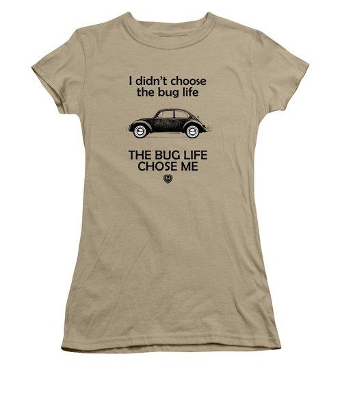 Volkswagen Beetle 1969 Women's T-Shirt (Junior Cut) by Mark Rogan