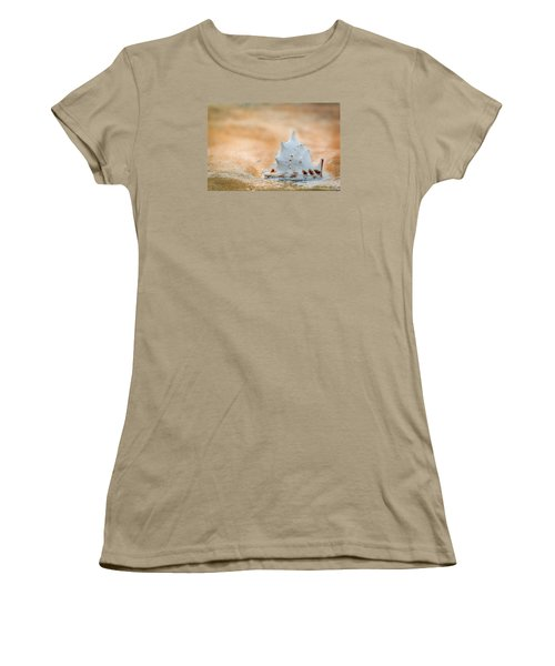 Women's T-Shirt (Junior Cut) featuring the photograph Washed Up by Sebastian Musial