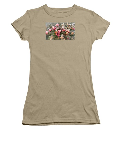 Women's T-Shirt (Junior Cut) featuring the photograph When Love Grows Cold by Katie Wing Vigil