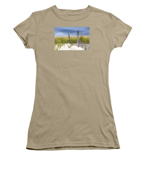 Women's T-Shirt (Junior Cut) featuring the photograph Who Knows How Long This Will Last by Dana DiPasquale