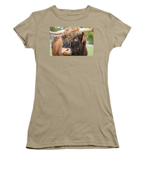 Yakity Yak Women's T-Shirt (Junior Cut) by Karol Livote