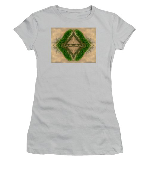 Orchard In The Sky Women's T-Shirt (Junior Cut) by Ester  Rogers