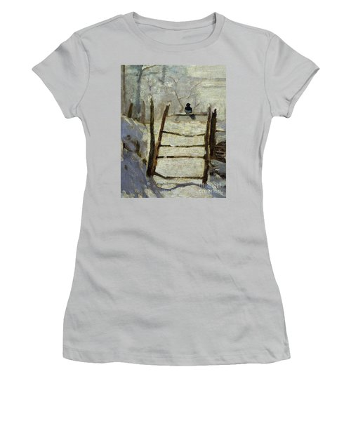 The Magpie Women's T-Shirt (Athletic Fit)