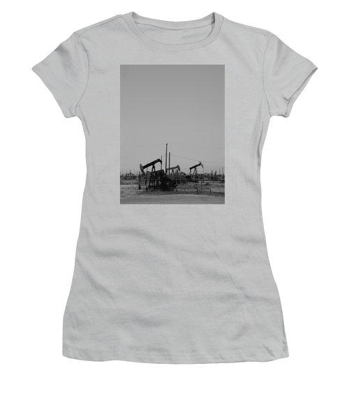 Black Gold Women's T-Shirt (Athletic Fit)