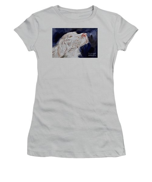 English Setter  Women's T-Shirt (Athletic Fit)