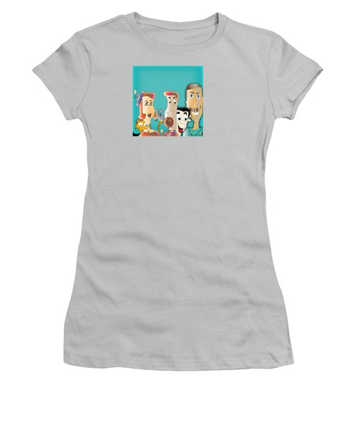 Friendship Women's T-Shirt (Junior Cut) by Iris Gelbart