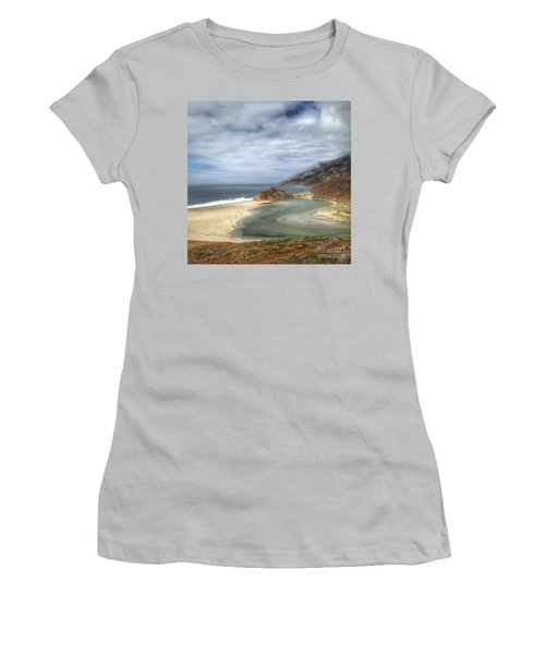 Little Sur River In Big Sur Women's T-Shirt (Athletic Fit)