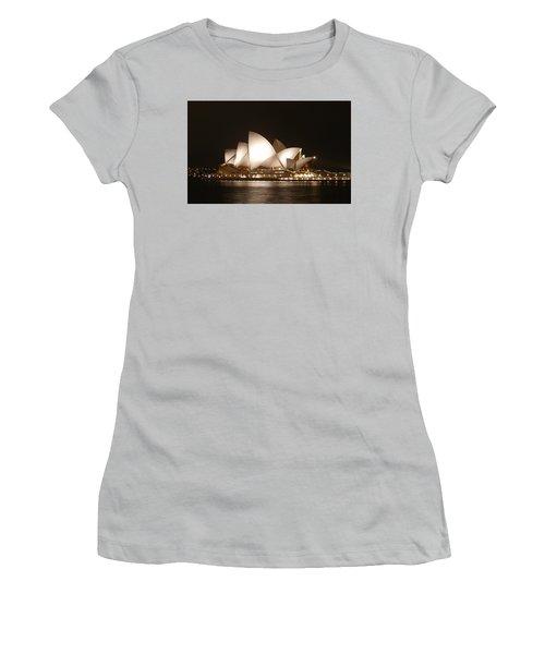 Night At The Opera Women's T-Shirt (Junior Cut) by Ellen Henneke