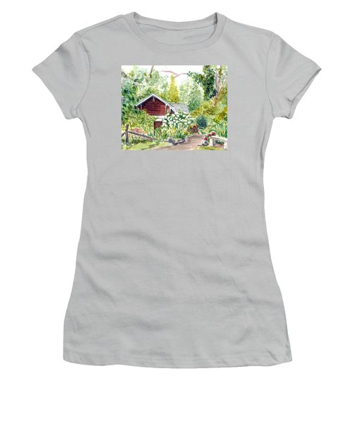 Sayen Woods Women's T-Shirt (Athletic Fit)
