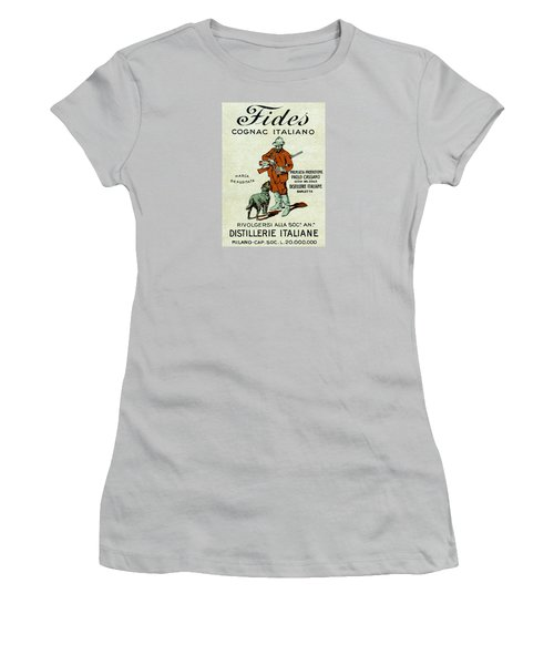 1905 Fides Italian Cognac Women's T-Shirt (Athletic Fit)