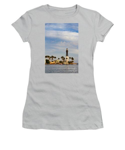 Hillsboro Inlet Lighthouse Women's T-Shirt (Athletic Fit)