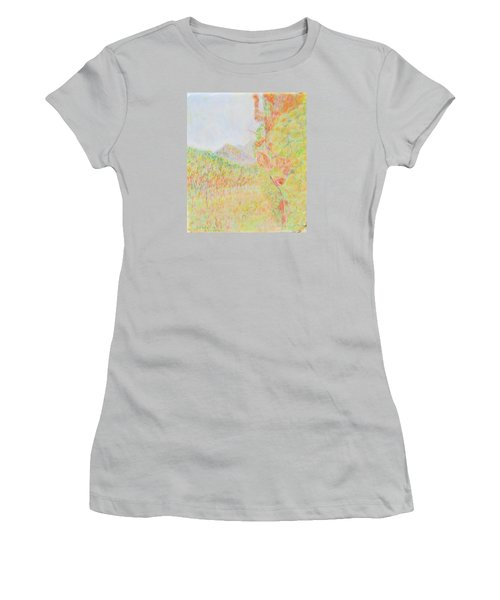 California Vineyard Women's T-Shirt (Athletic Fit)