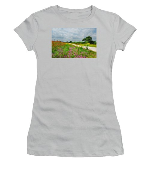 Wildflower Wonderland Women's T-Shirt (Athletic Fit)