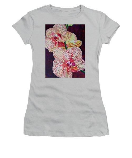 Orchids Women's T-Shirt (Athletic Fit)