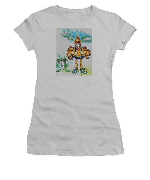 5am Is For The Birds Women's T-Shirt (Athletic Fit)