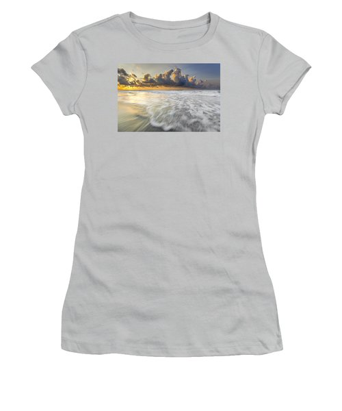 Sunrise On Hilton Head Island Women's T-Shirt (Athletic Fit)