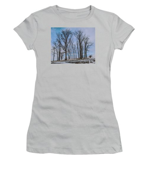 Women's T-Shirt (Junior Cut) featuring the photograph A Resting Place by Ray Congrove