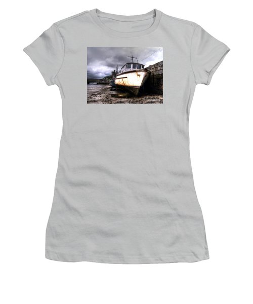 Women's T-Shirt (Junior Cut) featuring the photograph A Rough Ride by Doc Braham