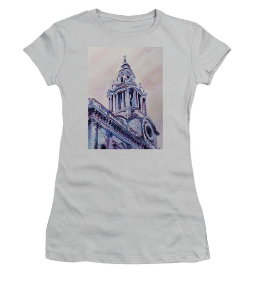 A Spire Of Saint Paul's Women's T-Shirt (Athletic Fit)