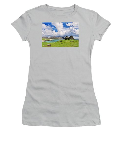 A Sunny Day In The Hebrides Women's T-Shirt (Athletic Fit)