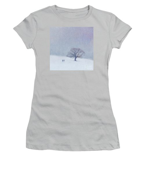 A Walk In The Snow Women's T-Shirt (Athletic Fit)