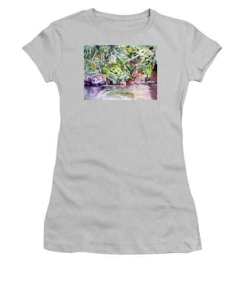 Abram's Creek Women's T-Shirt (Athletic Fit)