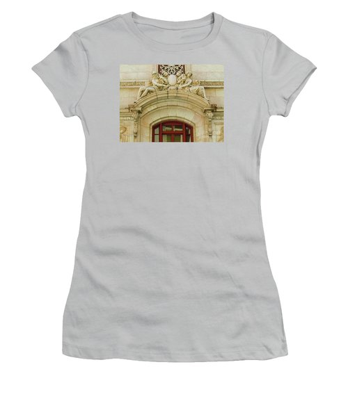 Women's T-Shirt (Junior Cut) featuring the photograph Adolphus Hotel - Dallas #4 by Robert ONeil
