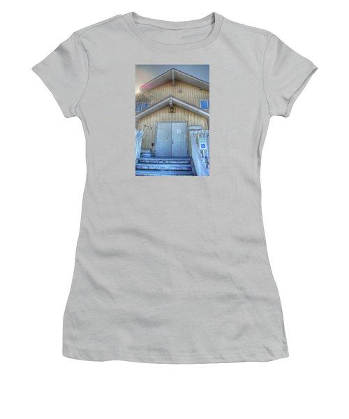 Alaskan Church Women's T-Shirt (Athletic Fit)