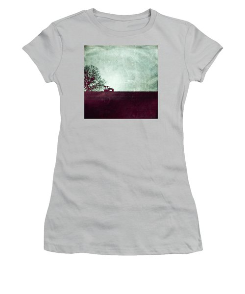 All That's Left Behind Women's T-Shirt (Junior Cut) by Trish Mistric