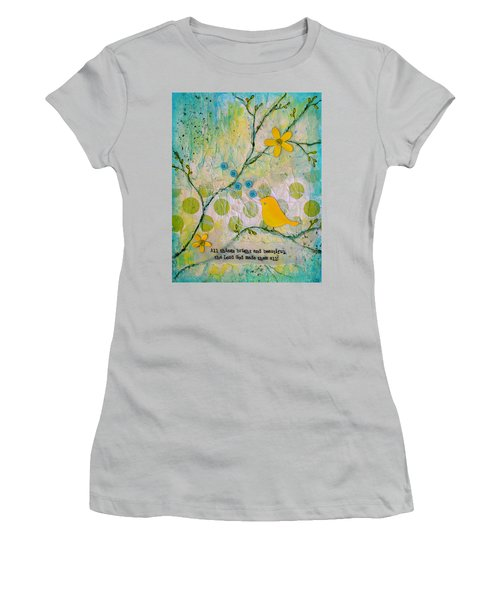 All Things Bright And Beautiful Women's T-Shirt (Athletic Fit)