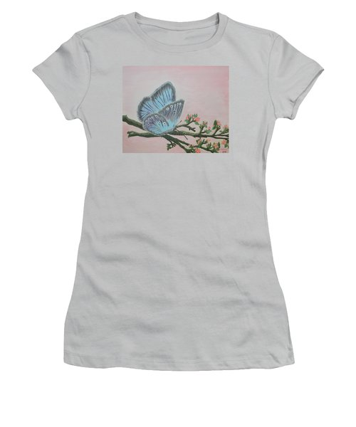 Amandas Blue Dream Women's T-Shirt (Junior Cut) by Felicia Tica
