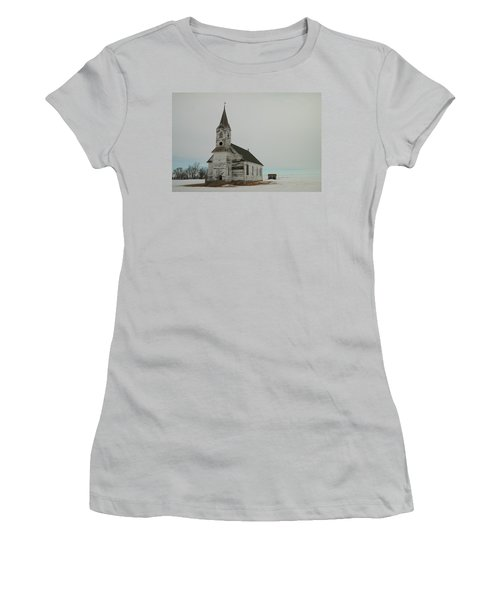 Amazing Grace In North Dakota Women's T-Shirt (Junior Cut) by Jeff Swan