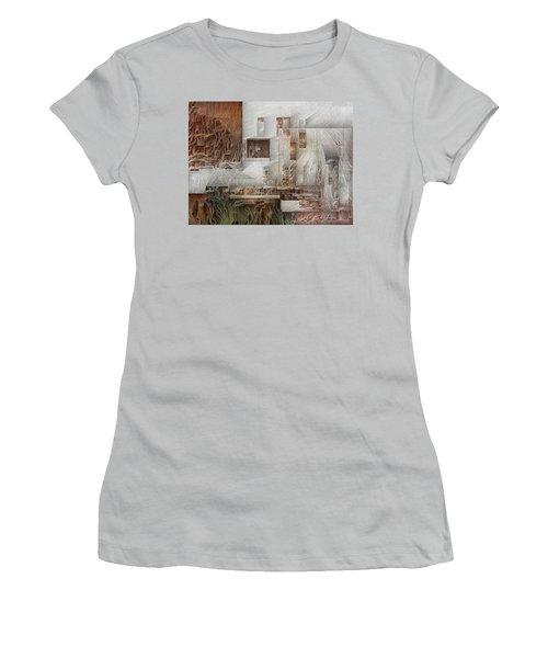Ancient City 1 Women's T-Shirt (Junior Cut) by David Hansen