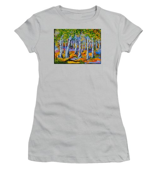 Aspen Friends In Walkerville Women's T-Shirt (Athletic Fit)