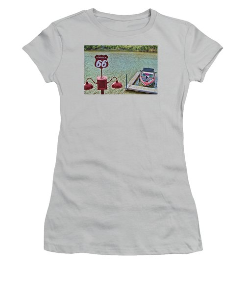 At Lake Havasu Women's T-Shirt (Athletic Fit)