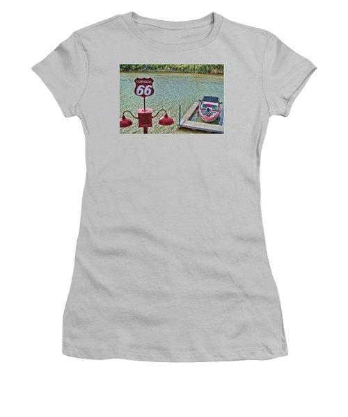 At Lake Havasu Women's T-Shirt (Athletic Fit)