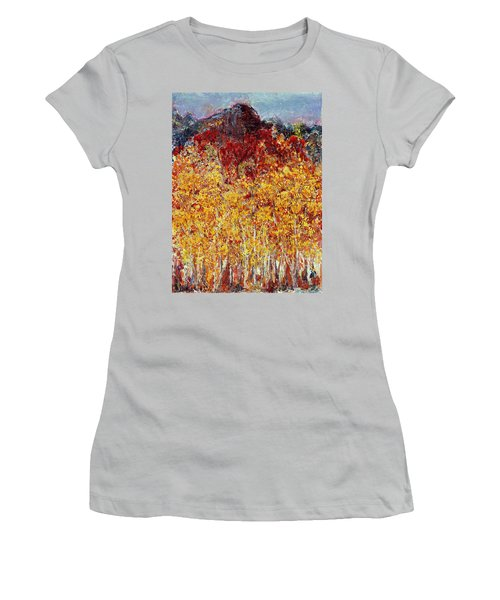 Autumn In The Pioneer Valley Women's T-Shirt (Athletic Fit)