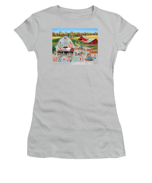 Autumn Quilts Women's T-Shirt (Athletic Fit)