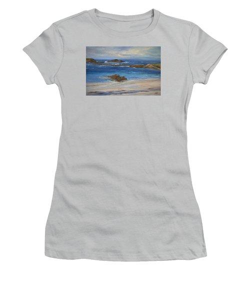 Azure Women's T-Shirt (Junior Cut) by Valerie Travers