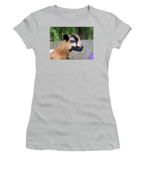 Women's T-Shirt (Junior Cut) featuring the photograph Bambi by Belinda Lee