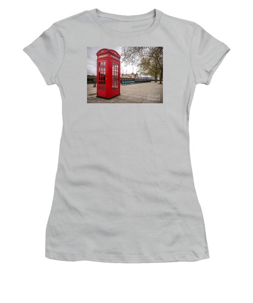 Battersea Phone Box Women's T-Shirt (Athletic Fit)